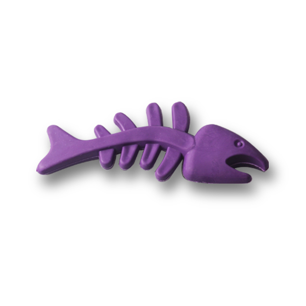 Fishbone-shaped Dog Chew Toy