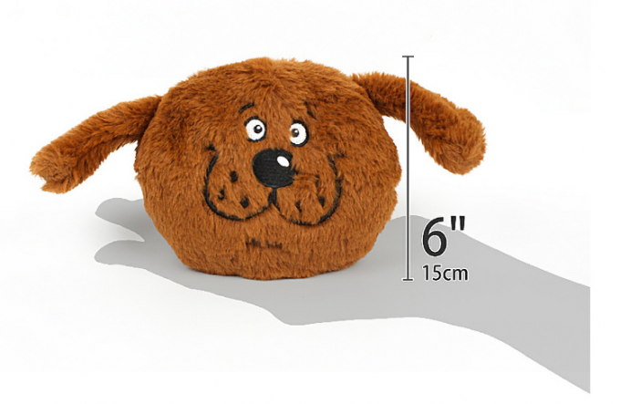 Plush Dog Chew Toy