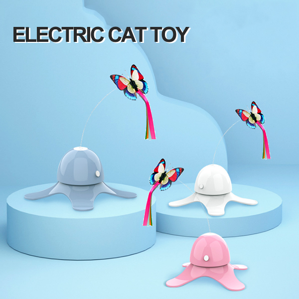 Butterfly String Electric Cat Toy