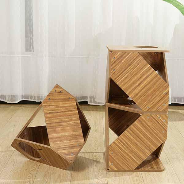 Foldable Geometry Cat Climbing Frame Variant 3