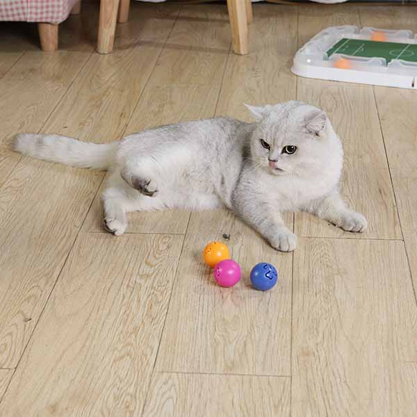cat toys balls with bells